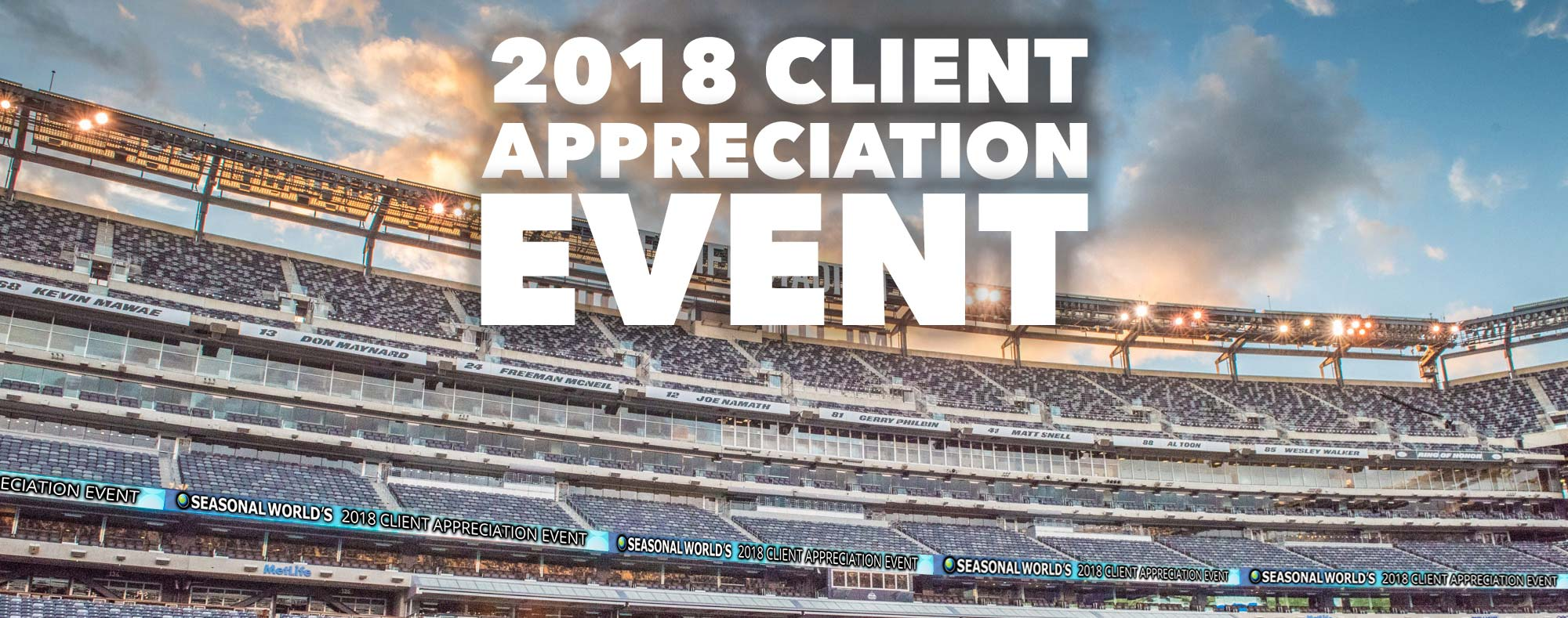 2018 Client Appreciation